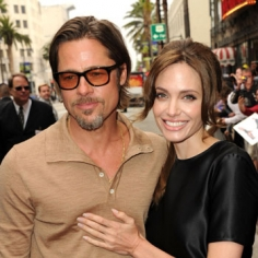 angelina brad have a lovefest at kung fu panda 2 premiere Angelina & Brad Have A Lovefest At Kung Fu Panda 2 Premiere