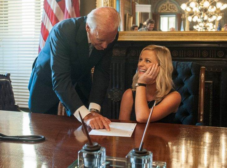 Here's How Leslie Knope Is Probably Reacting to Vice President Joe Biden's DNC Speech