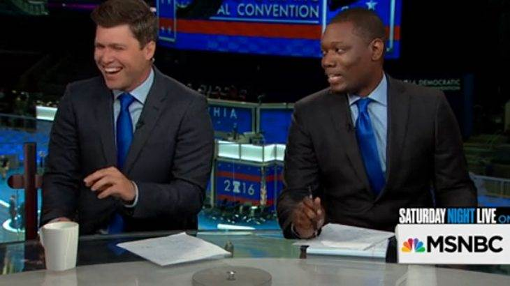 Why Michael Che & Colin Jost might quietly be the best thing going at the DNC