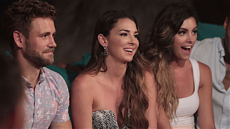 Nick, Jen and Lace on 'Bachelor in Paradise' Season 3