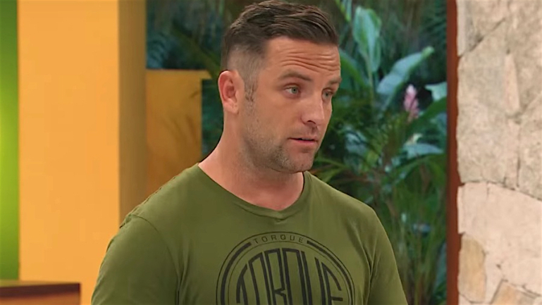 TJ Lavin host of 'The Challenge' is pissed