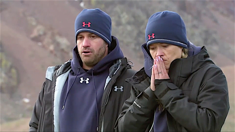 Johnny Bananas and Sarah Rice 'The Challenge Rivals III'