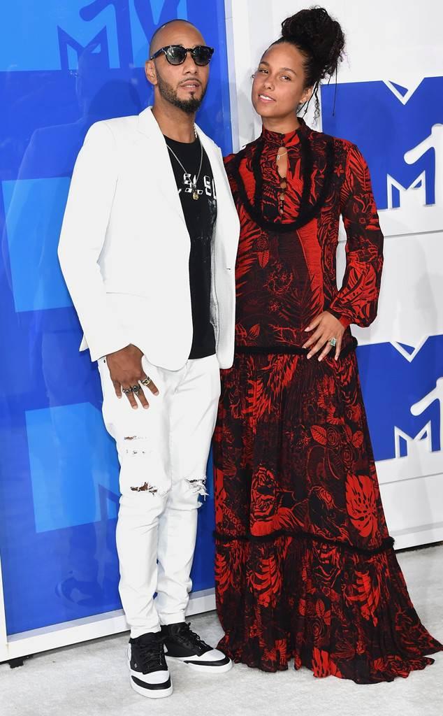Swizz Beatz, Alicia Keys, 2016 MTV VMAs