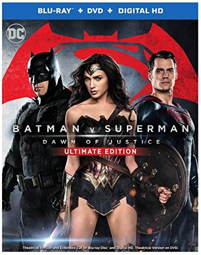 Batman v Superman: Dawn of Justice (Ultimate Edition Blu-ray +…