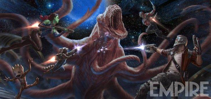 Marvel Bits: 'Guardians of the Galaxy' Face a Crazy New Creature,