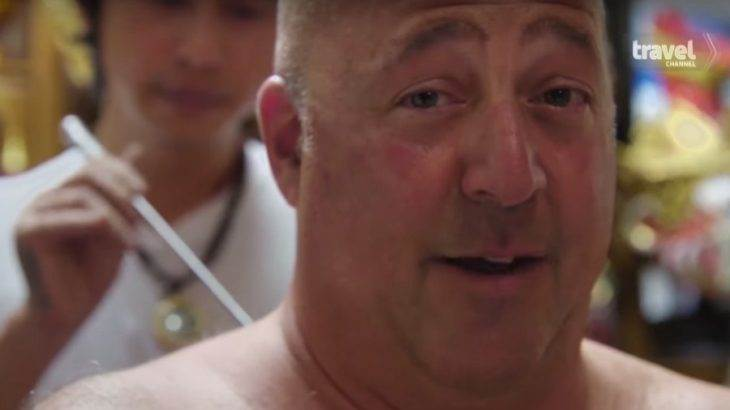 'Driven by Food': Watch Andrew Zimmern get his very first tattoo