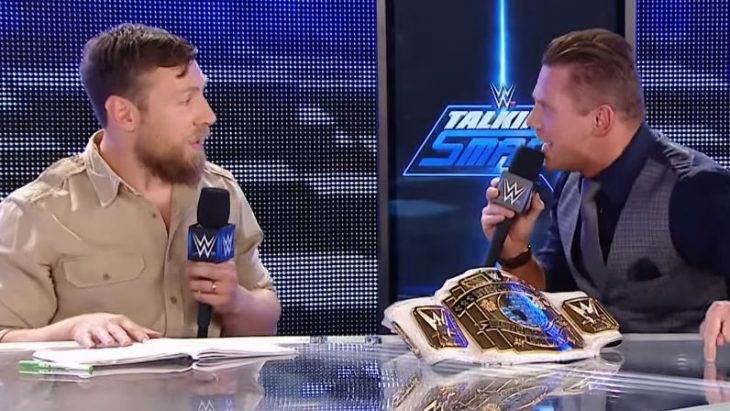 The Miz gave WWE's best segment in ages and it wasn't even on TV