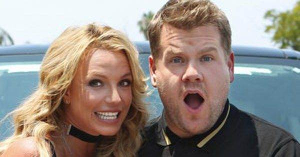 Britney Spears' Carpool Karaoke With James Corden Is Filled With Dick