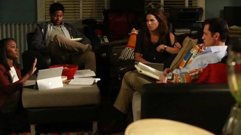 alfred enoch aja naomi king karla souza matt mcgorry htgawm abc How to Get Away with Murder: Expect to learn more about Laurel & Michaela in Season 3