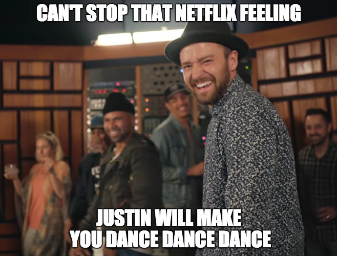 5 alternate posters for Justin Timberlake's new Netflix special