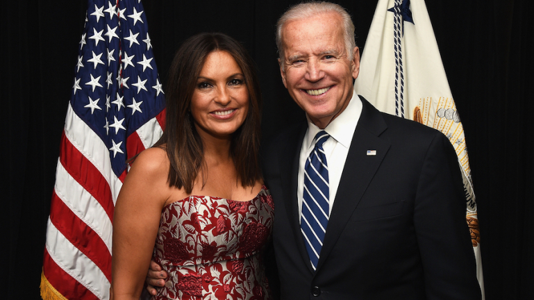 mariska hargitay and joe biden