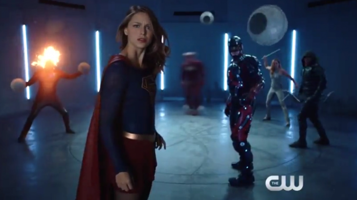 Superhero fight club introduces 'Supergirl' to the CW