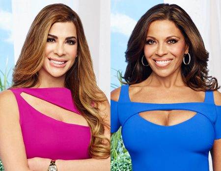 The Real Housewives of New Jersey's Siggy Flicker & Dolores Catania
