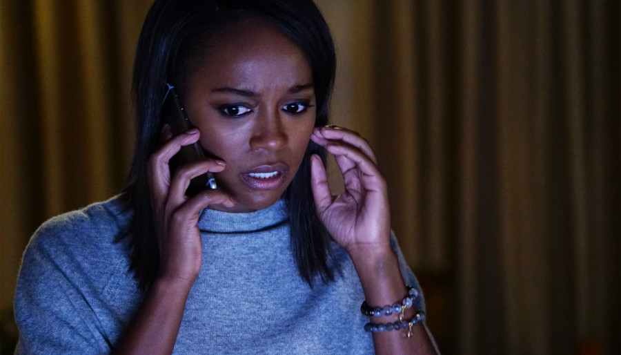 aja naomi king how to get away with murder abc HTGAWMs Aja Naomi King: Its not all about whos under the sheet