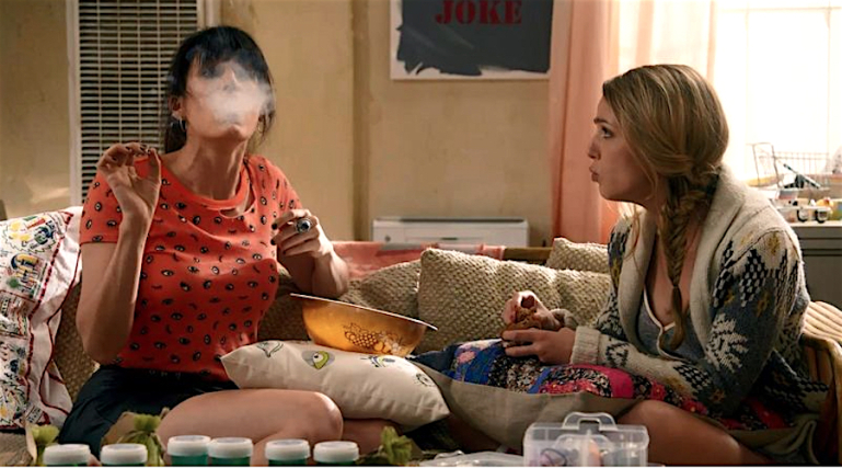 mj smoking Snoop Doggs MTV series Mary + Jane gets more potent with each episode