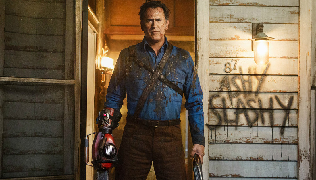 ash vs evil dead bruce campbell season 2 episode 2 Ash vs. Evil Dead Season 2 finally gave us the one scene we cant unsee
