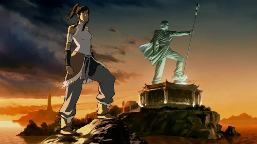 korra with aang statue An absolute privilege: Why Legend of Korra is so important to the marginalized