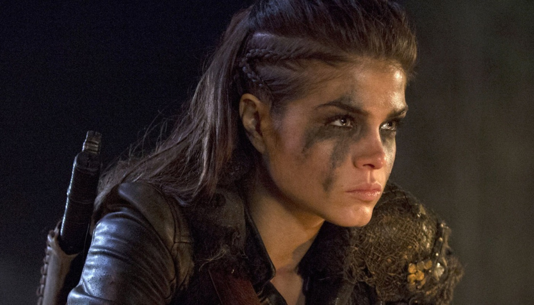 Marie Avgeropoulos in The 100 on the CW