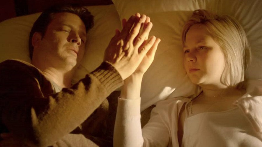 Clayne Crawford and Adelaide Clemens in Rectify