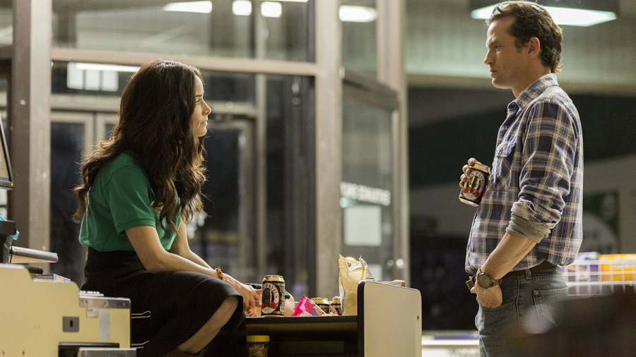 Abigail Spencer and Daniel Holden in Rectify