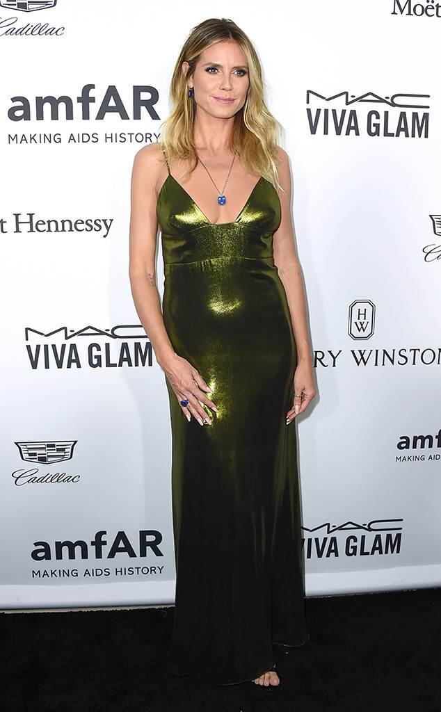 Heidi Klum, Jon Hamm and More Stars Step Out for the 2016 amfAR Inspiration