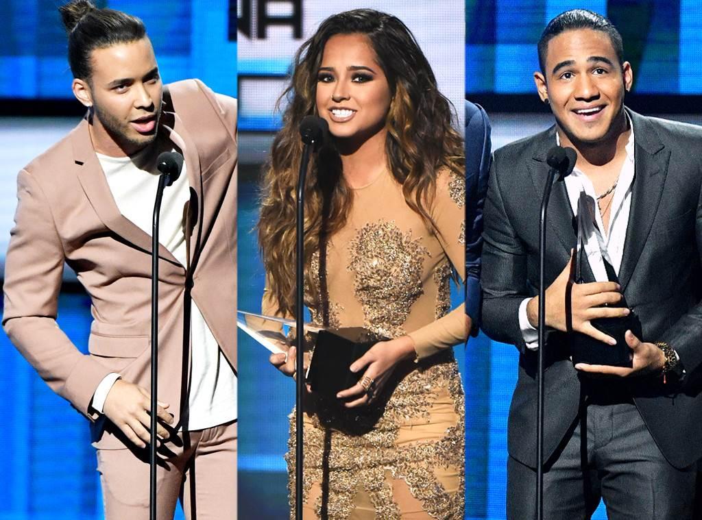 2016 Latin American Music Awards, Winners