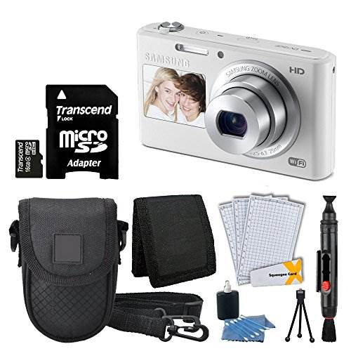 Samsung DV180 16.2MP Smart Wi-Fi Digital Camera + Compact Case…