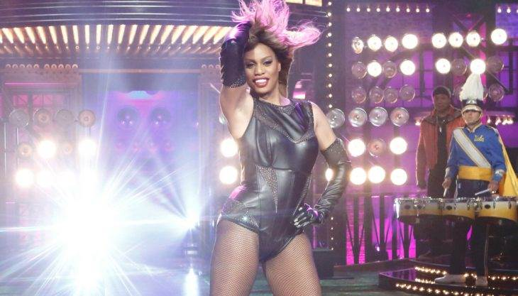Is Laverne Cox hotter as Beyonce or Frank-N-Furter? We honestly can't tell
