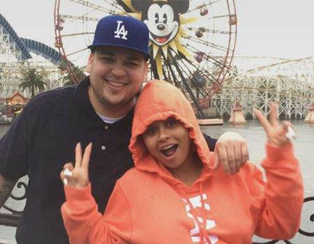 Rob Kardashian and Blac Chyna Treat King Cairo to a Magical Day at Disneyland