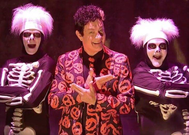 Watch: See How Tom Hanks' David S. Pumpkins Makes Your Favorite Horror