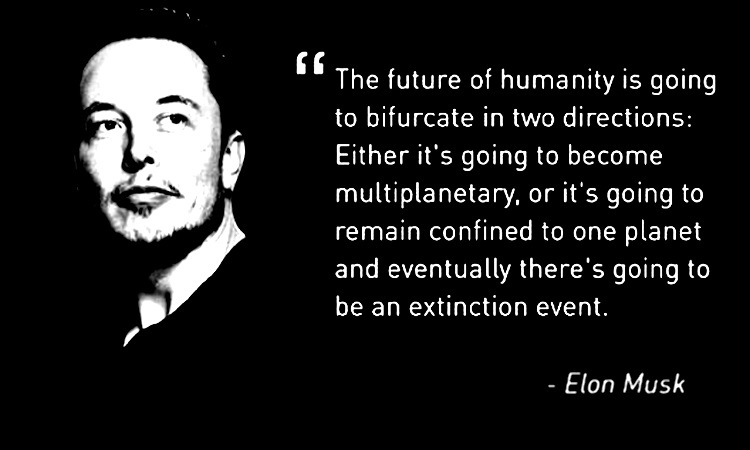 elon musk quote1 Mars: The 4 most mind blowing facts from Nat Geos revolutionary series