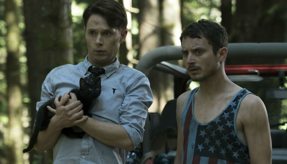 dirk gently samuel barnett elijah wood 105 Psychic or psycho: Todd finally embraces Dirk Gentlys friendship