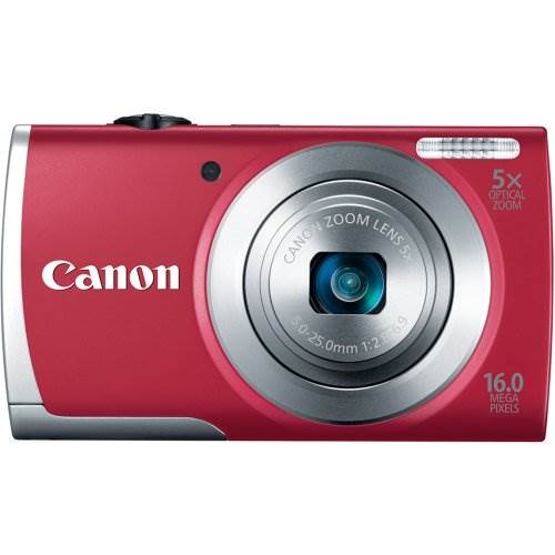 Canon PowerShot A2500 16MP Digital Camera with 5x Optical Imag…