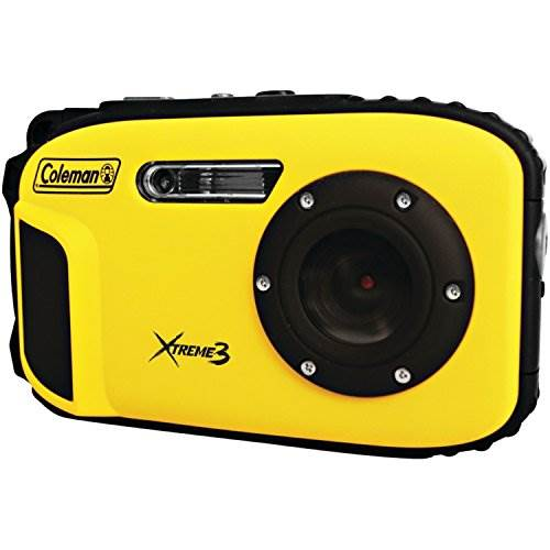 Coleman C9WP-Y Xtreme3 20 MP Waterproof Digital Camera with Fu…