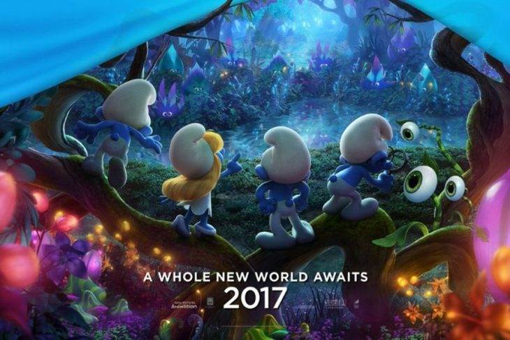 New 'Smurfs: The Lost Village' Trailer Leaves the Live-Action World