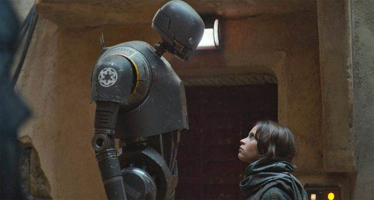 New Rogue One: A Star Wars Story Trailer Shines Spotlight on New Droid K-2SO