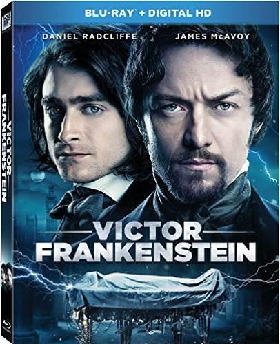 Victor Frankenstein Blu-ray