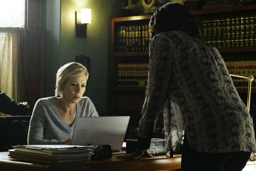 liza weil viola davis htgawm abc Worried for Frank? Charlie Weber says hes absolutely willing to take his own life