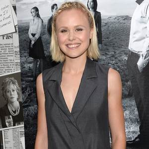 The Newsroom's Alison Pill Welcomes Her First Child, a Baby Girl, With