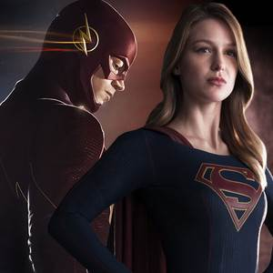 This New Trailer For the CW's Biggest Crossover Yet Could Not Be Much