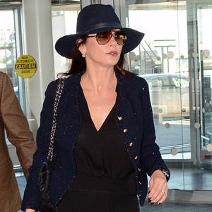 Catherine Zeta-Jones Claps Back at Paparazzi After They Photograph Her in a