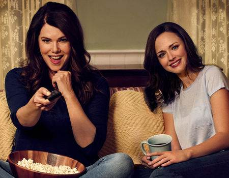 Gilmore Girls Gets a Racy New Trailer With Child Labor & No Underwear