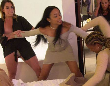 A Volatile Fight Erupts Between Hencha Voigt and Astrid Bavaresco on WAGS