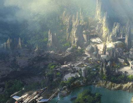 Disney Reveals New Details and Images of Star Wars and Avatar-Themed Lands at