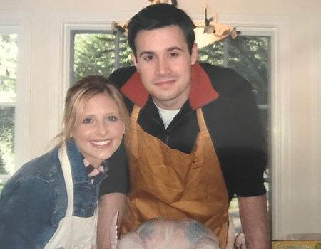 Sarah Michelle Gellar and Freddie Prinze Jr. on Their First Ever Thanksgiving