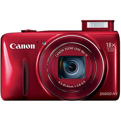 Canon PowerShot SX600 HS 16MP Digital Camera – Wi-Fi Enabled (…
