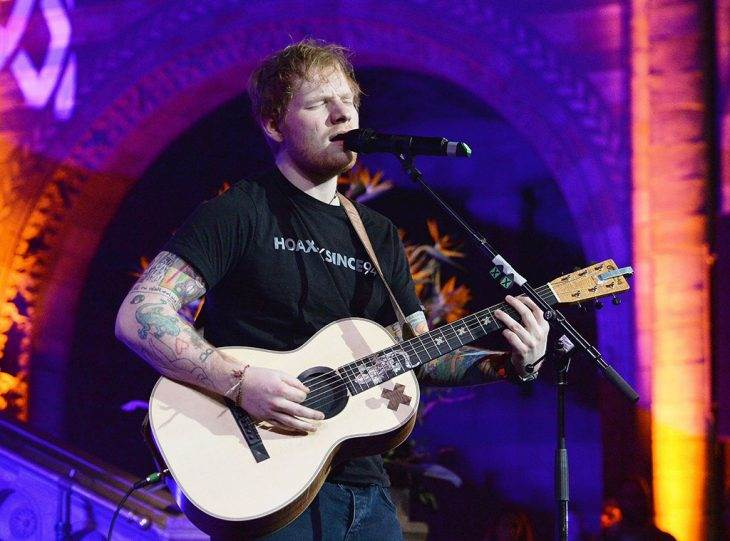 Ed Sheeran Returns to the Stage After Long Hiatus, Jokes About Sword Injury