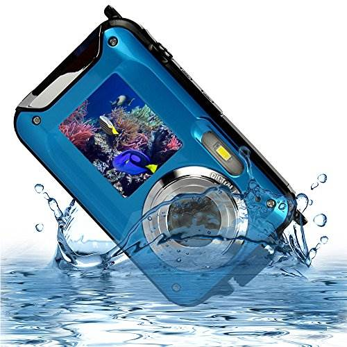 MARVUE HDV-801 Underwater Shockproof Digital 24MP Camera & Cam…
