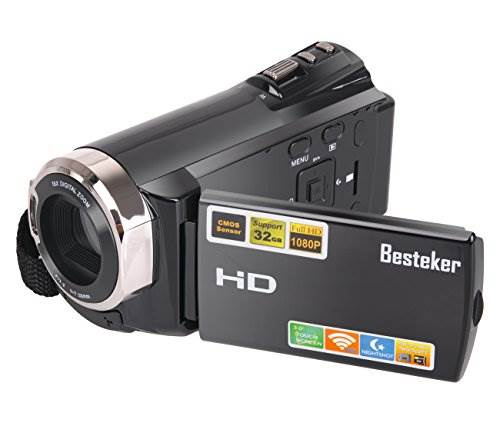 Video Camcorders, Besteker Portable Digital Video Camera Max 2…