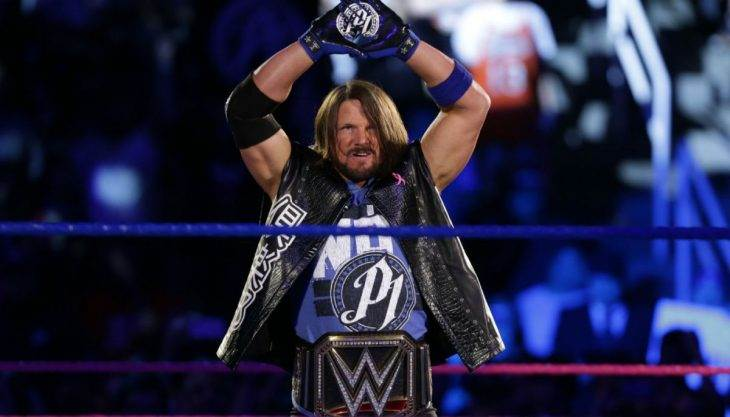 Congrats to AJ Styles on 2016: One of the best years in WWE history